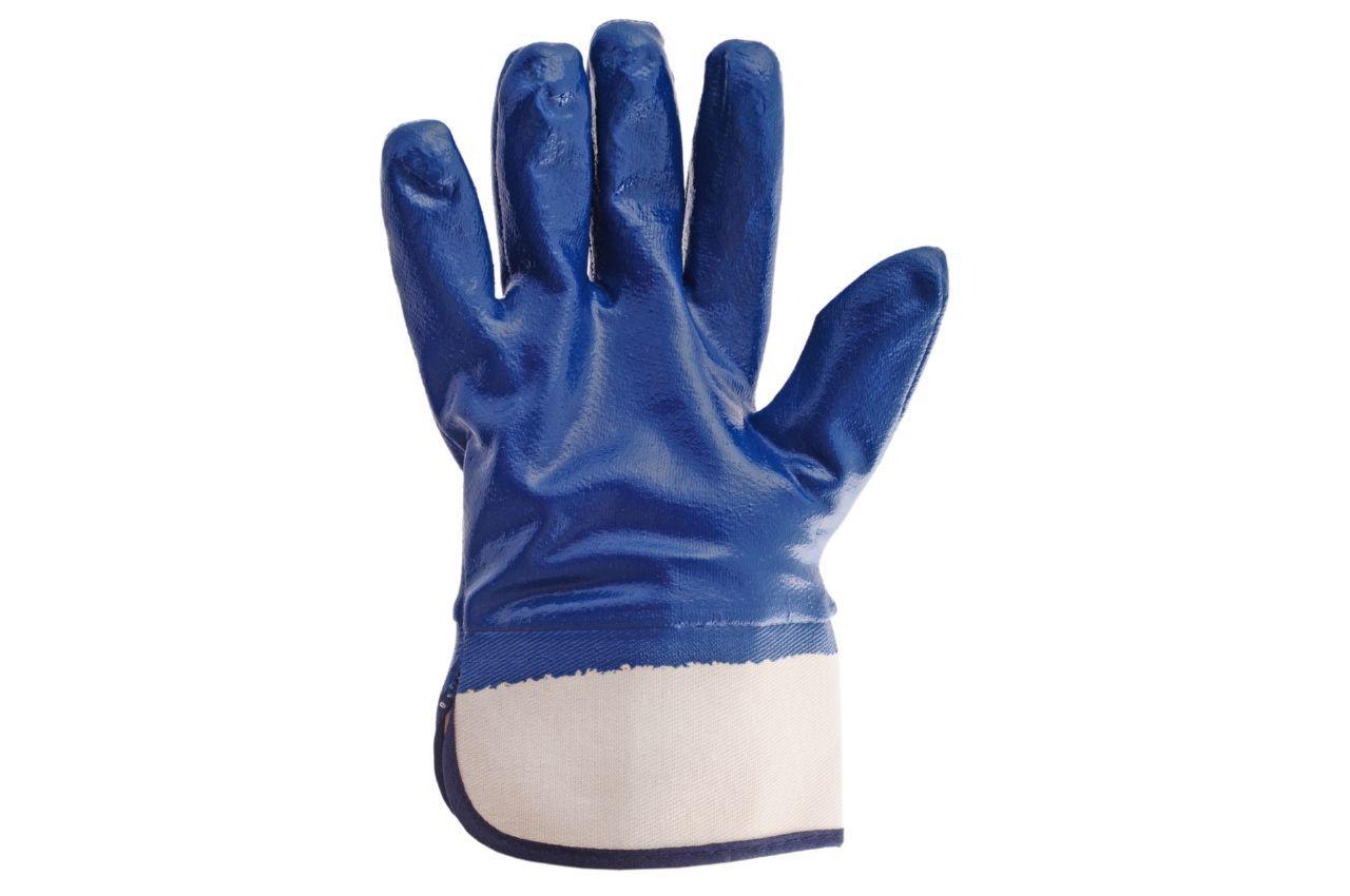 Перчатки Intertool - масло-бензостойкие с твердым манжетом 10,5 1