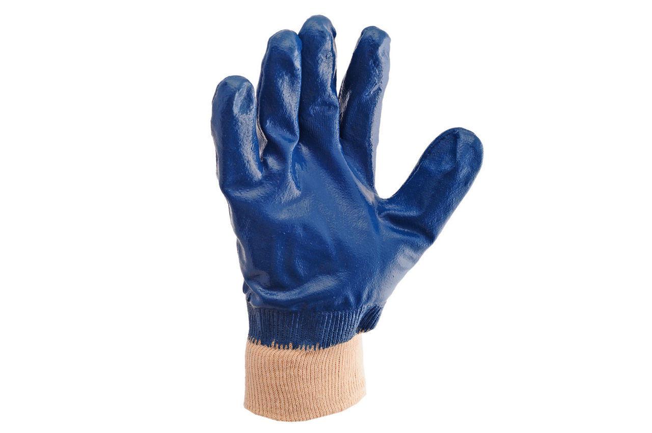 Перчатки Intertool - масло-бензостойкие с мягким манжетом 1