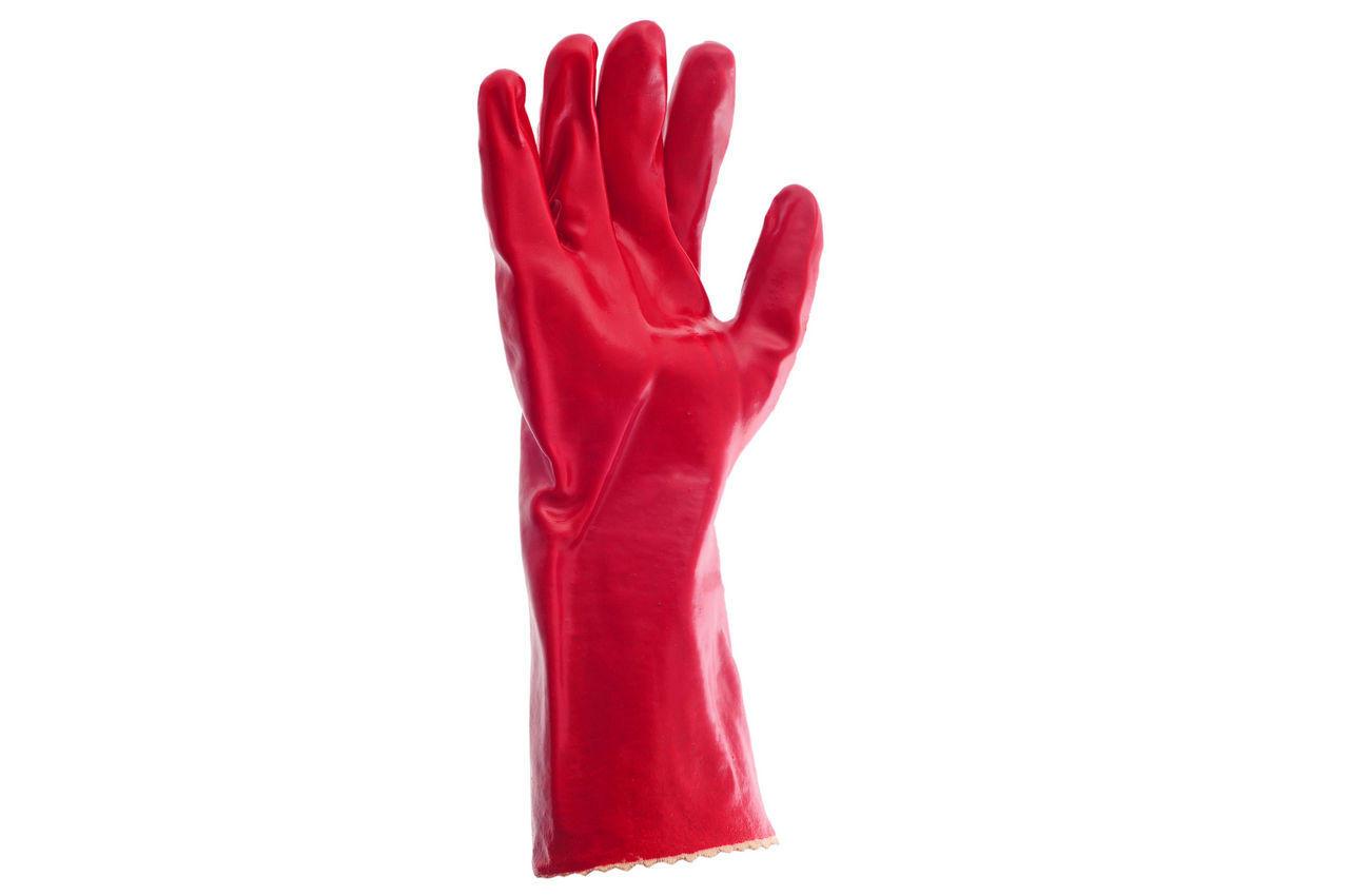 Перчатки Intertool - масло-бензостойкие 35 см х 14 1