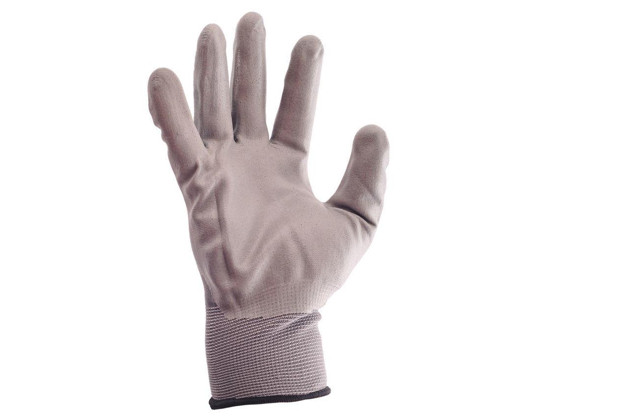 Перчатки Intertool - нитриловые 10 (серая) 3 шт. 1