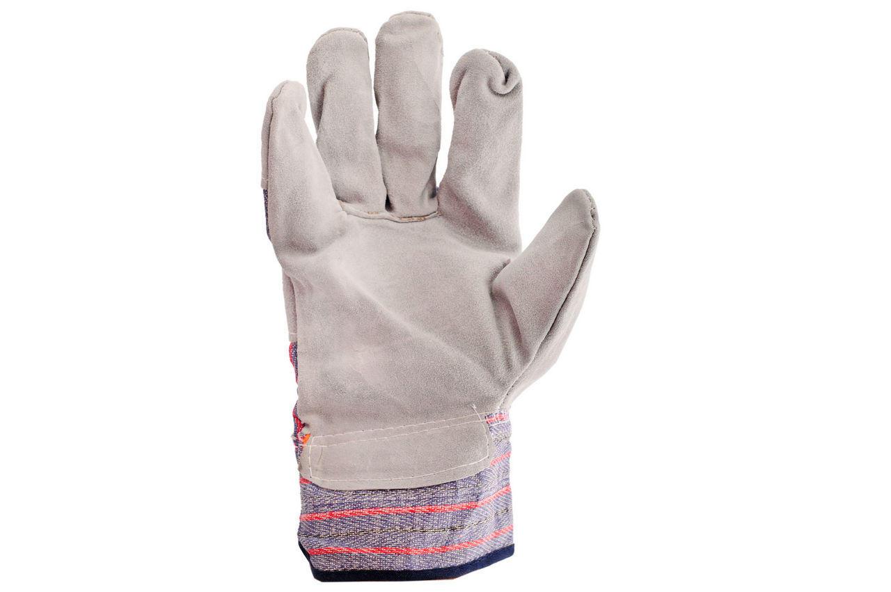 Перчатки Intertool - замшевые комбинированные 27 см х 10,5 1