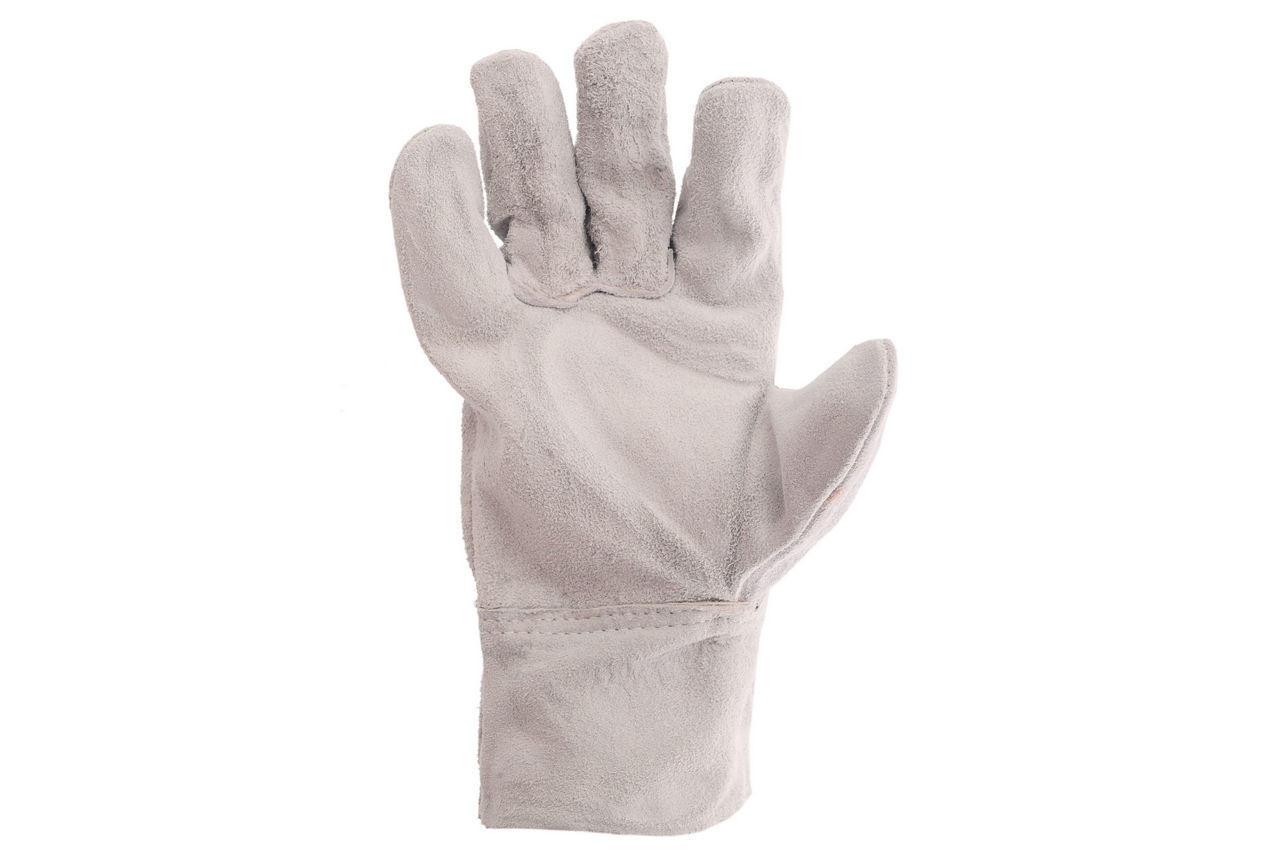 Перчатки Intertool - замшевые краги 27 см х 10,5 (серые) 1