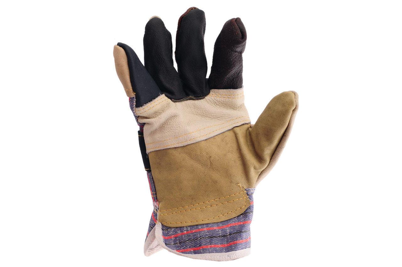 Перчатки Intertool - кожаные комбинированные 10,5 1
