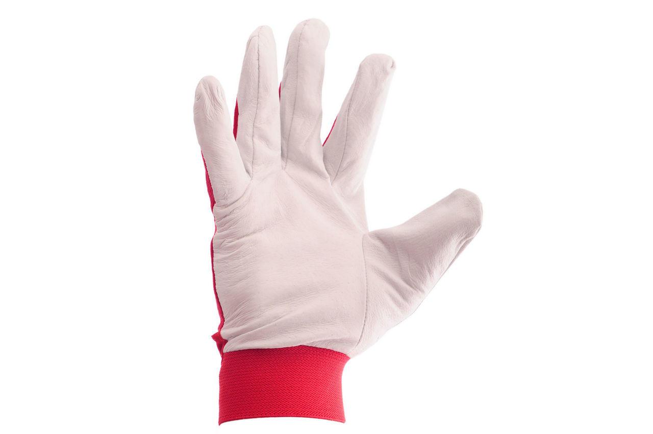 Перчатки Intertool - кожаные комбинированные 10 1
