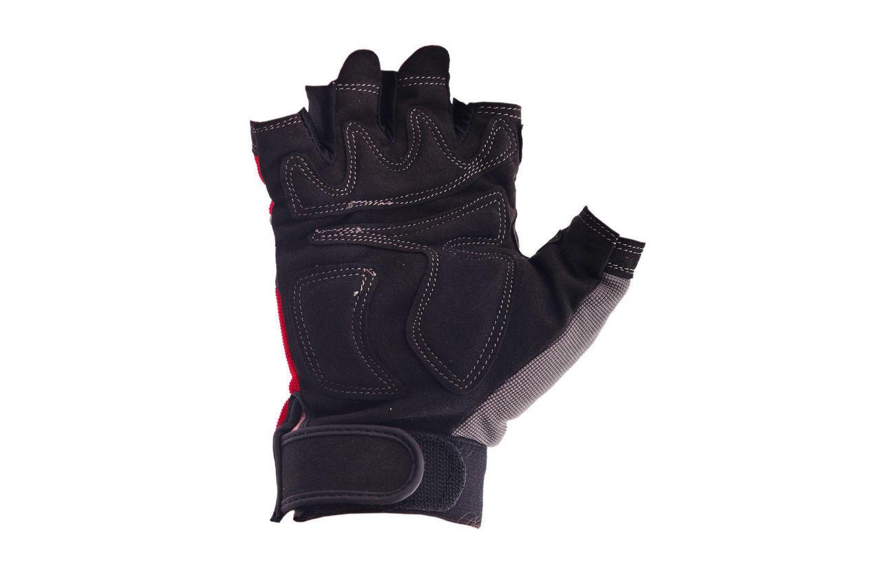 Перчатки Intertool - неопреновые комбинированные спандексом 9 (Без пальцев) 1