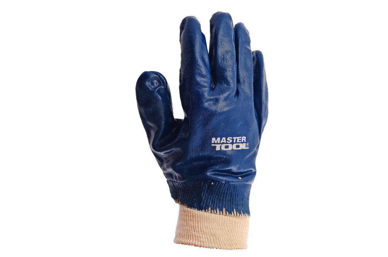 Перчатки Mastertool - масло-бензостойкие с мягким манжетом 10,5 2