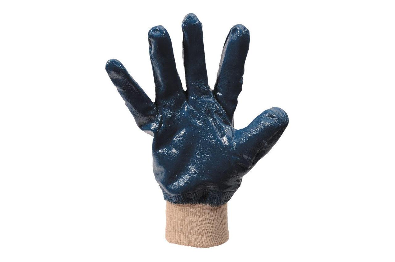 Перчатки Mastertool - масло-бензостойкие с мягким манжетом 10,5 3