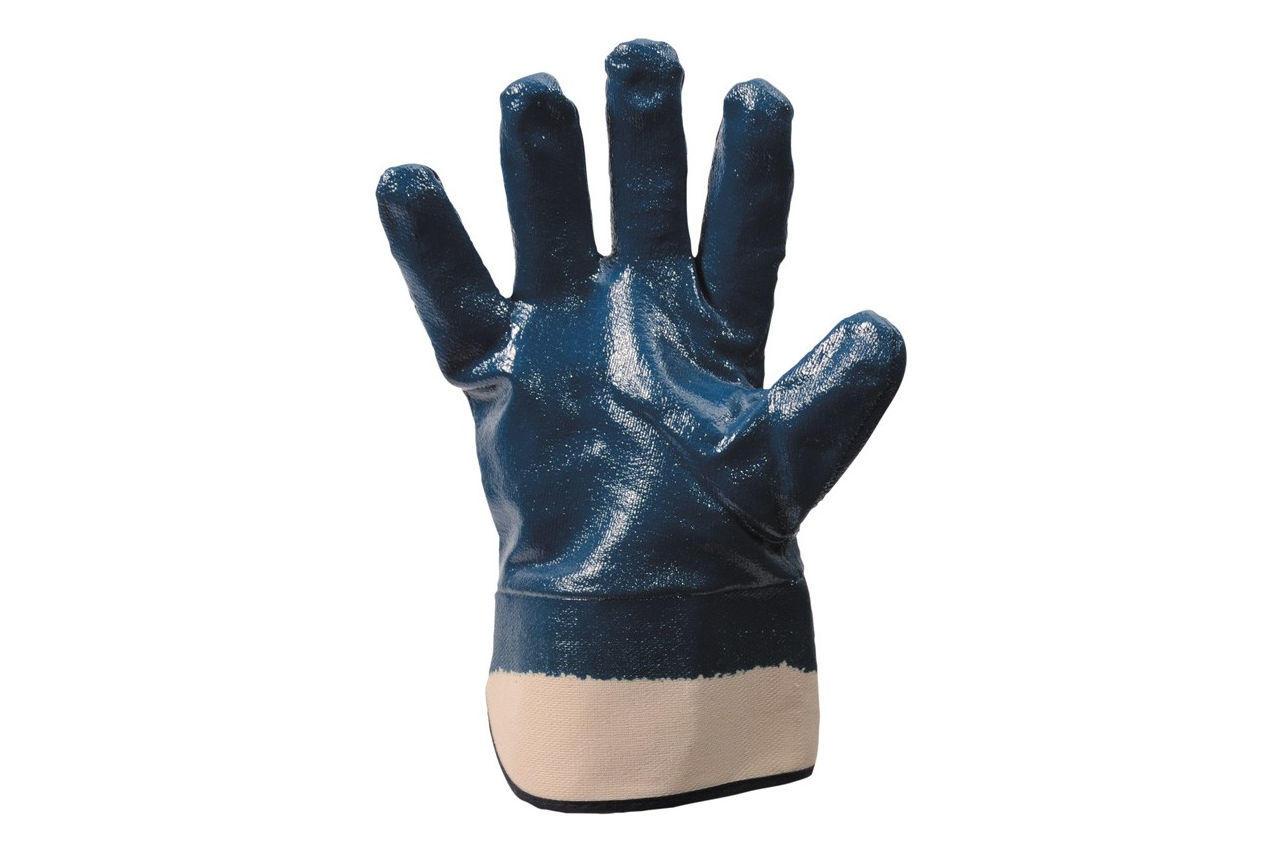 Перчатки Mastertool - масло-бензостойкие с твердым манжетом 10,5 3