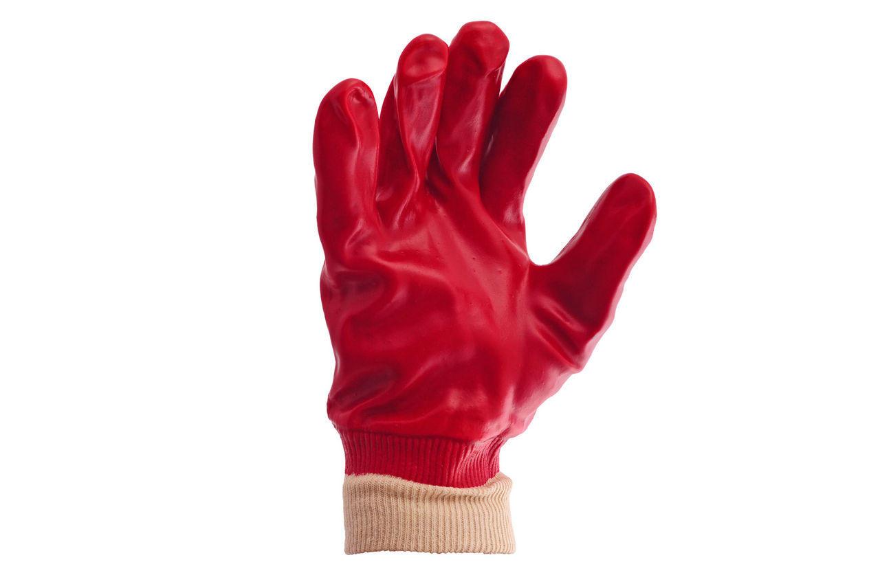 Перчатки Mastertool - масло-бензостойкая 26 см х 10,5 (красная) 1