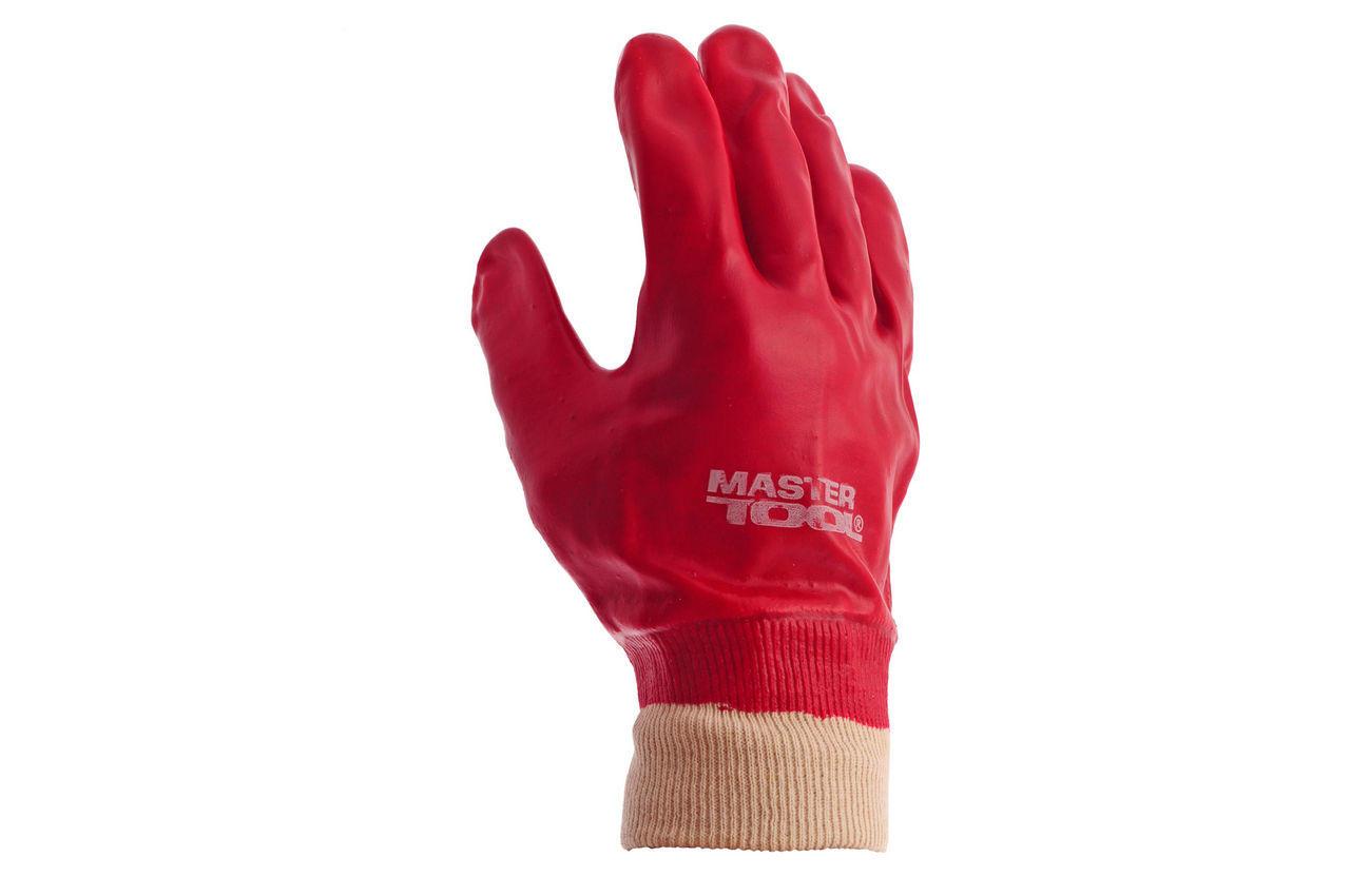 Перчатки Mastertool - масло-бензостойкая 26 см х 10,5 (красная) 2