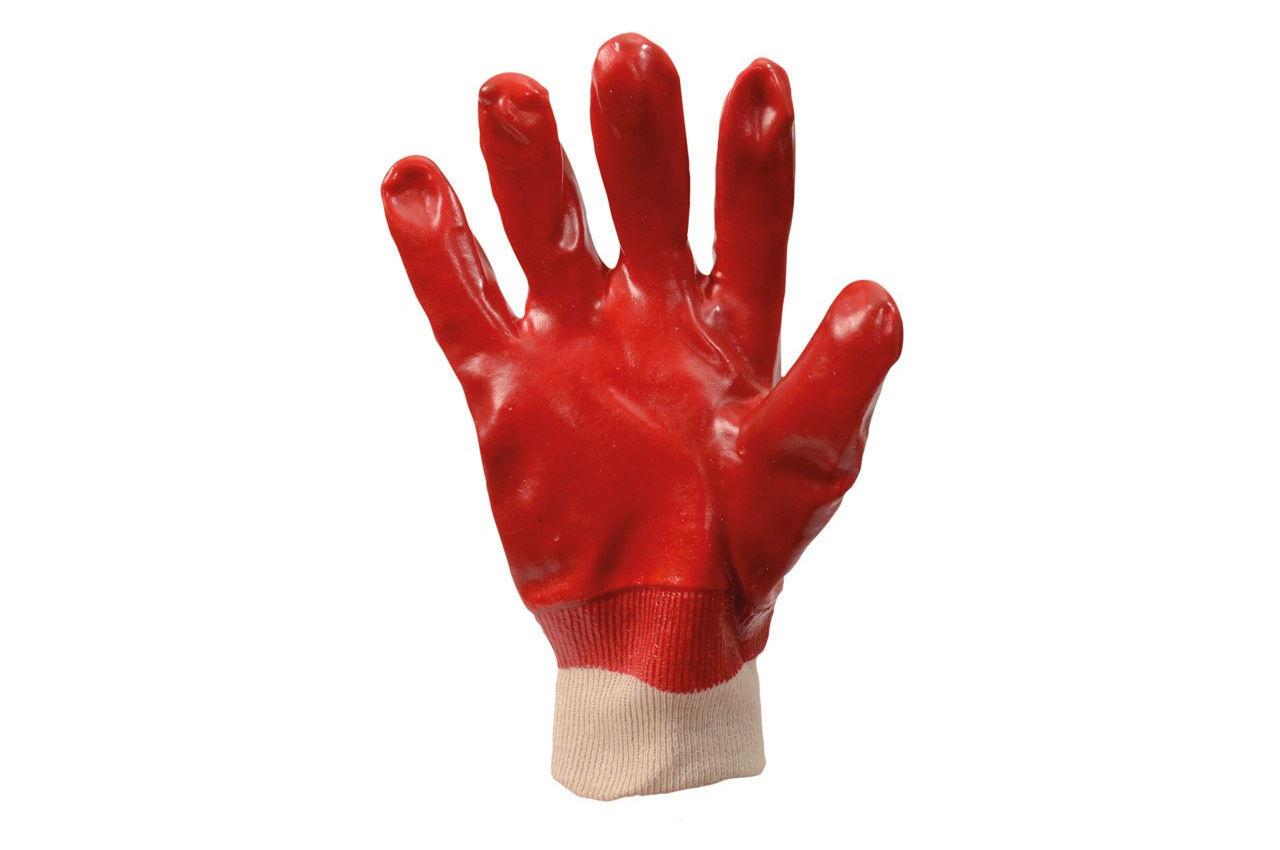 Перчатки Mastertool - масло-бензостойкая 26 см х 10,5 (красная) 3