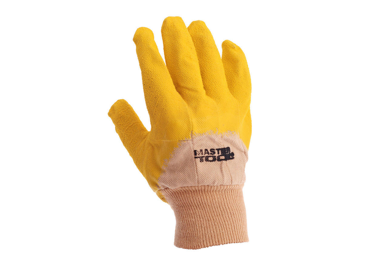 Перчатки Mastertool - стекольщика (желтая) 10,5 2