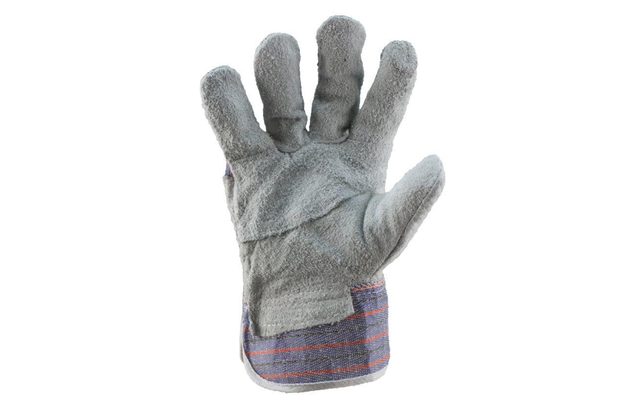 Перчатки Mastertool - замшевые комбинированные, сшивная ладонь 10,5 1