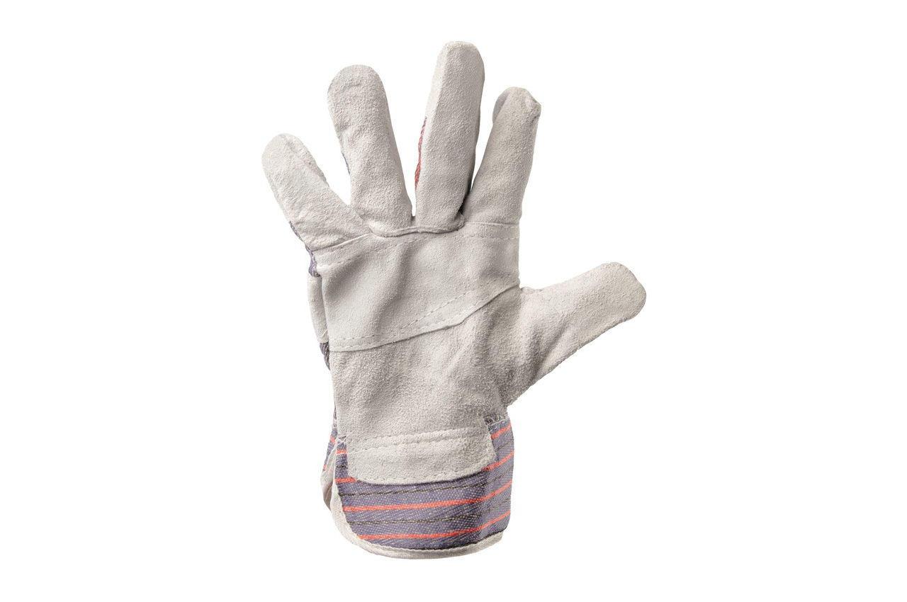 Перчатки Mastertool - замшевые комбинированные, сшивная ладонь 10,5 3
