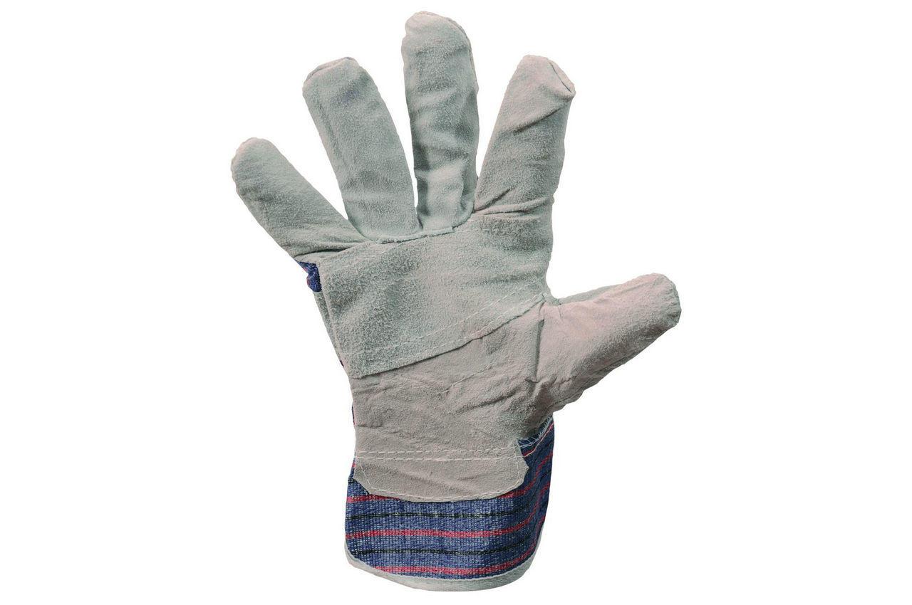 Перчатки Mastertool - замшевые комбинированные, сшивная ладонь 10,5 4