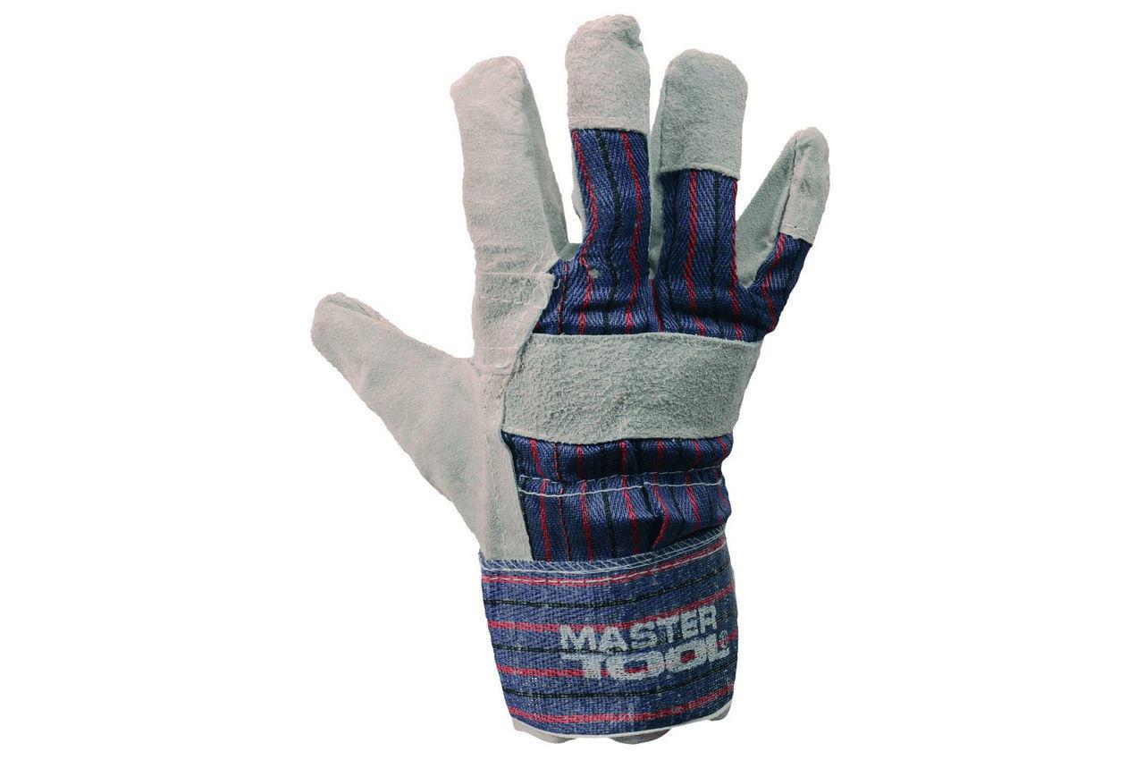 Перчатки Mastertool - замшевые комбинированные, сшивная ладонь 10,5 5