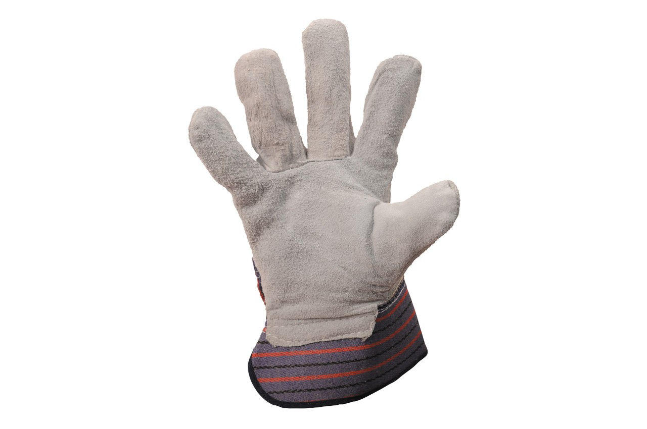Перчатки Mastertool - замшевые комбинированные, цельная ладонь 10,5 3