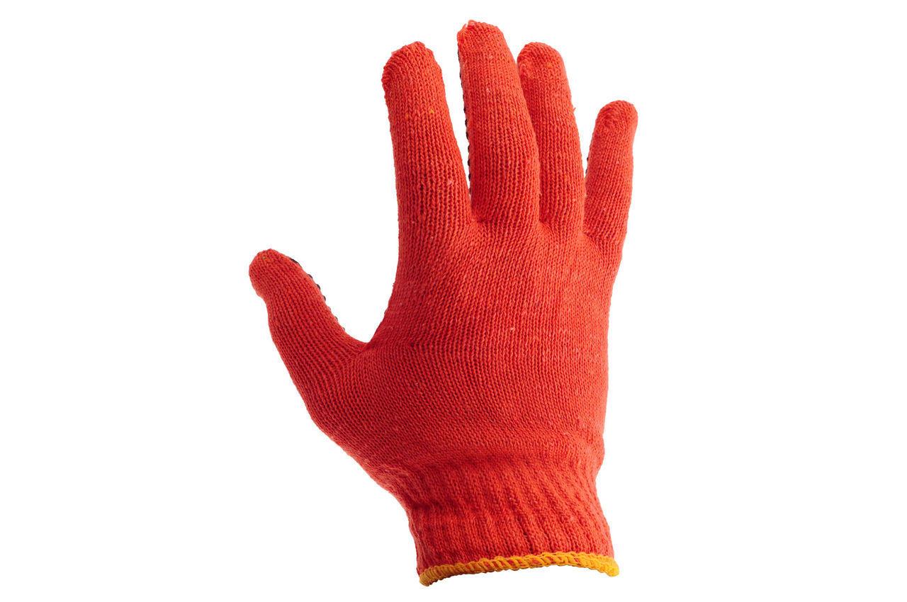Перчатки PRC - оранжевая с точкой 10 2