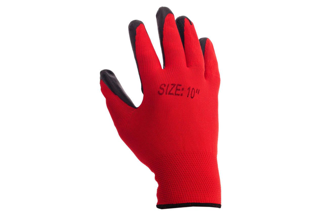 Перчатки PRC - латексная пропитка 10 2