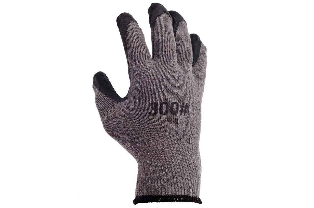 Перчатки PRC - ребристая латексная заливка 10 2