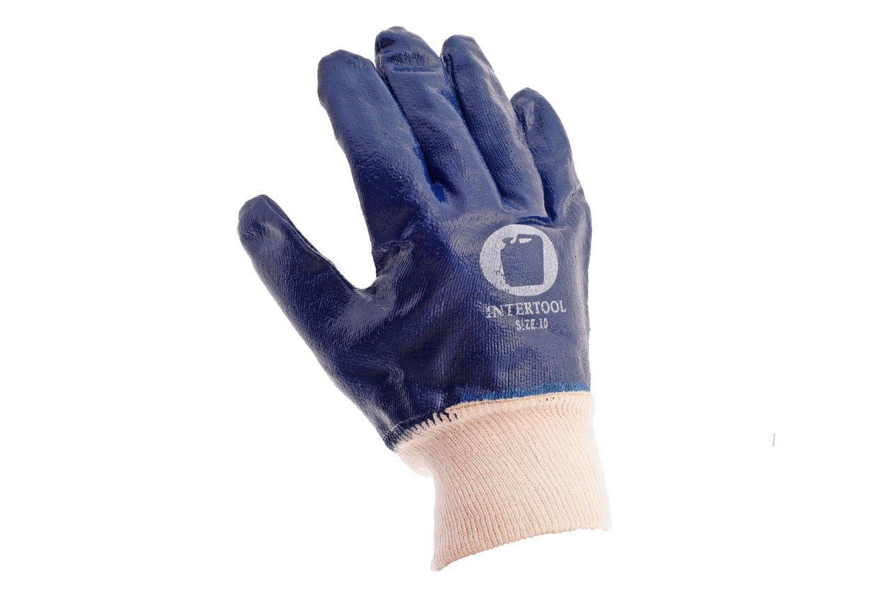 Перчатки PRC Канистра - масло-бензостойкие с мягким манжетом 10 (щелочные) 2