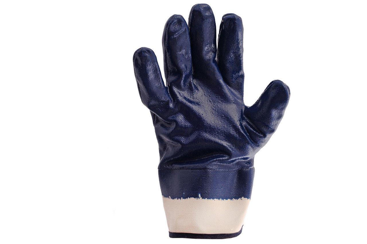 Перчатки PRC Канистра - масло-бензостойкие с твердым манжетом 10 (щелочные) 1