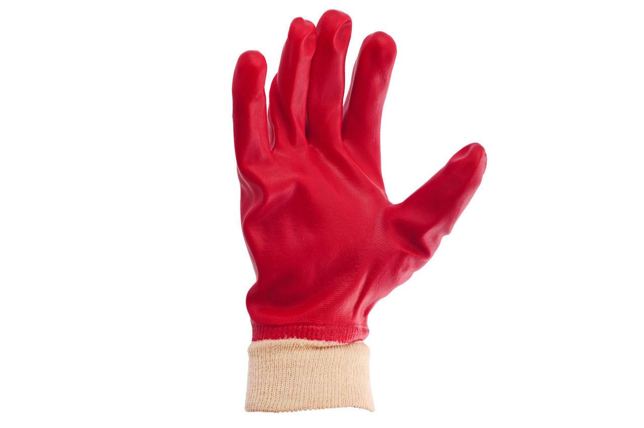 Перчатки PRC - масло-бензостойкая 26 см х 10,5 (красная) 1