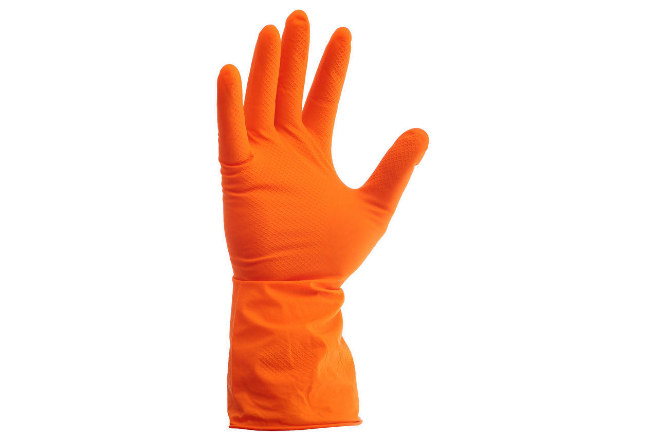Перчатки Алиско - резиновые L 1