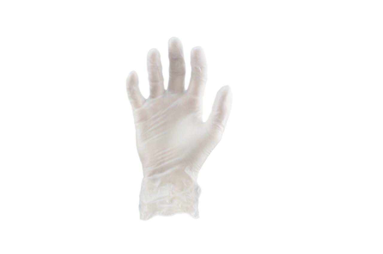 Перчатки Алиско - медицинские (белые) (L) (в пачке 100 перчаток) 1