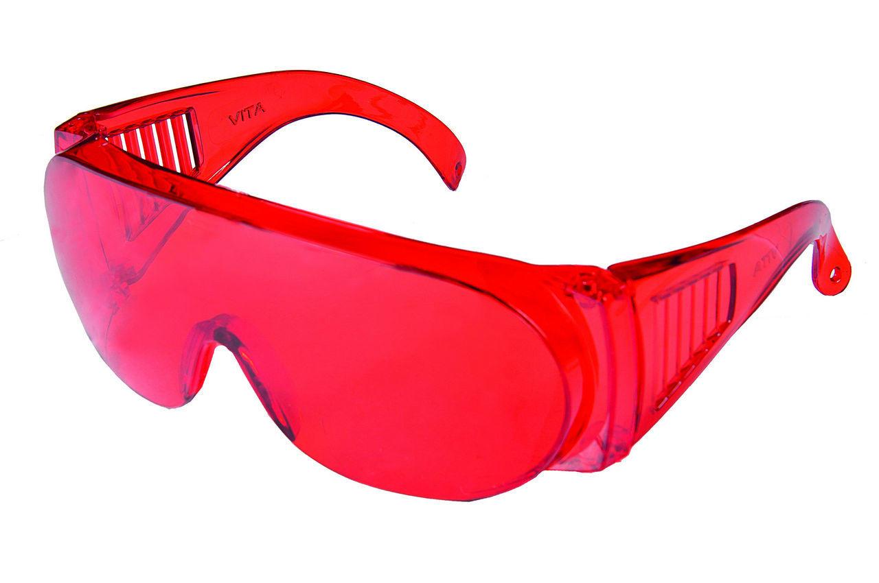 Очки защитные Vita - Озон (красные) 1