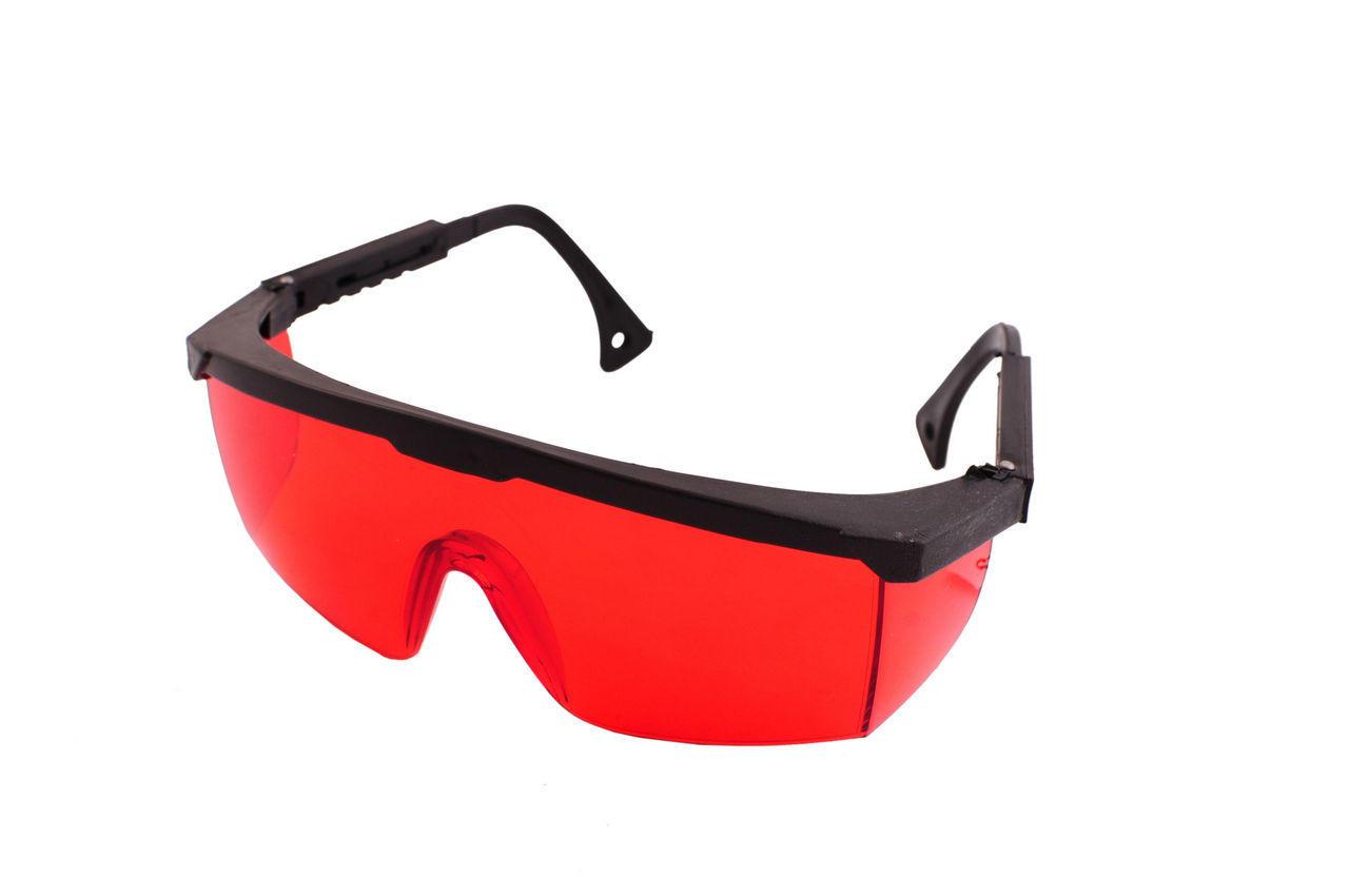 Очки защитные Vita - комфорт (красные) 1