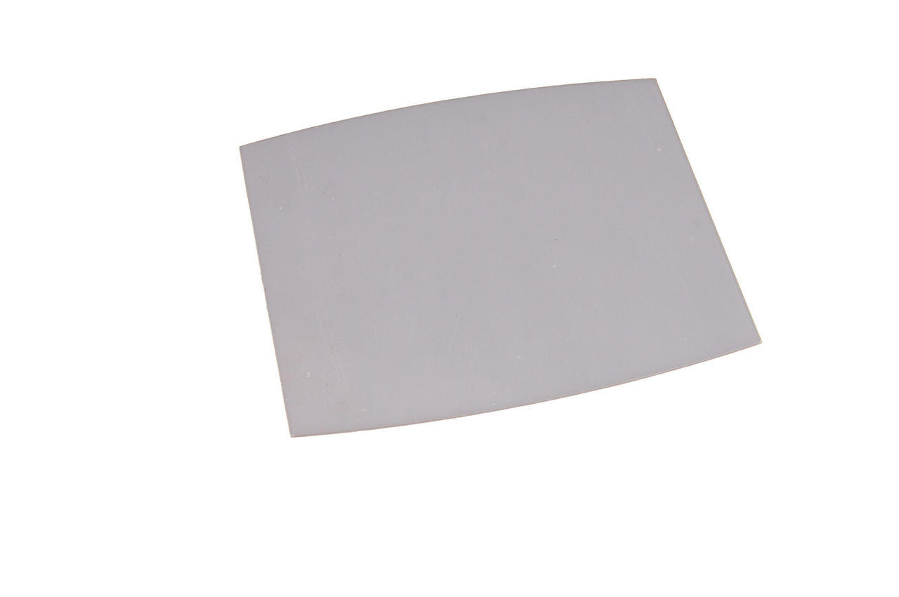 Стекло для сварочной маски Vita - 90 х 110 мм поликарбонат полукруглое 1