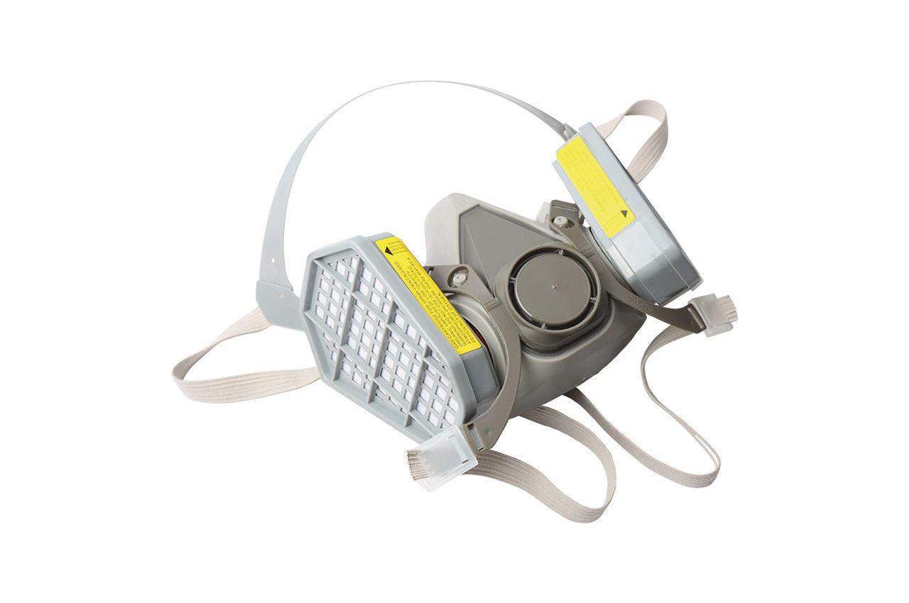 Респиратор Miol - 2 фильтра прямоугольных 1