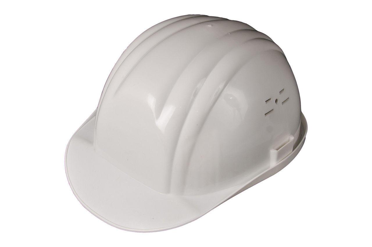 Каска строительная Vita белая 2