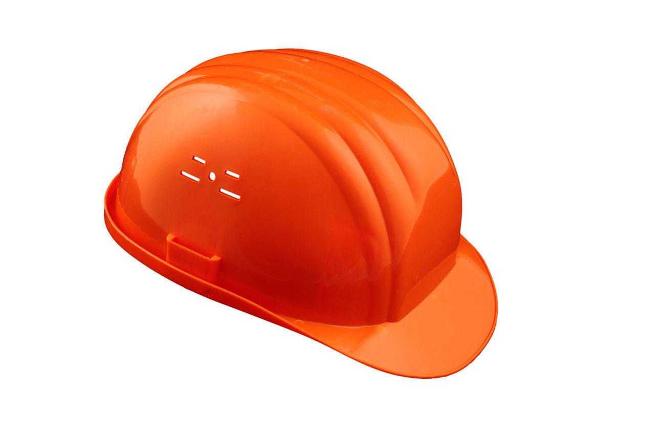 Каска строительная Vita оранжевая 1