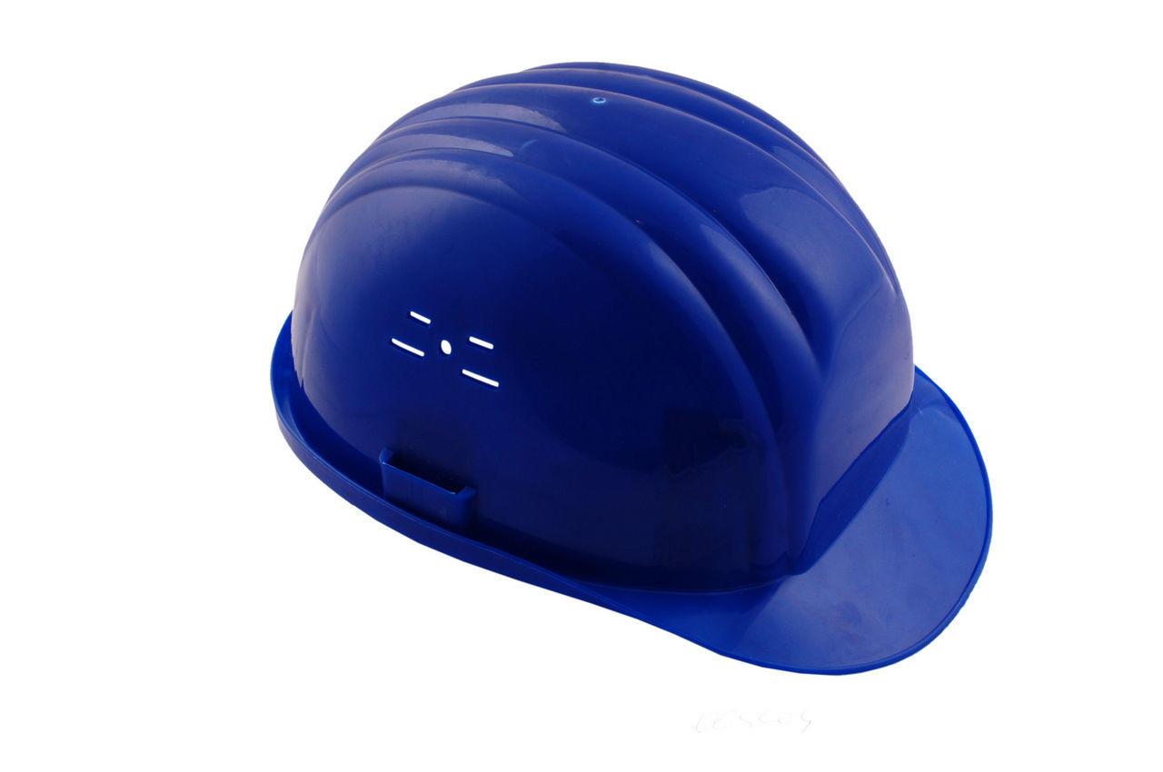 Каска строительная Vita синяя 1