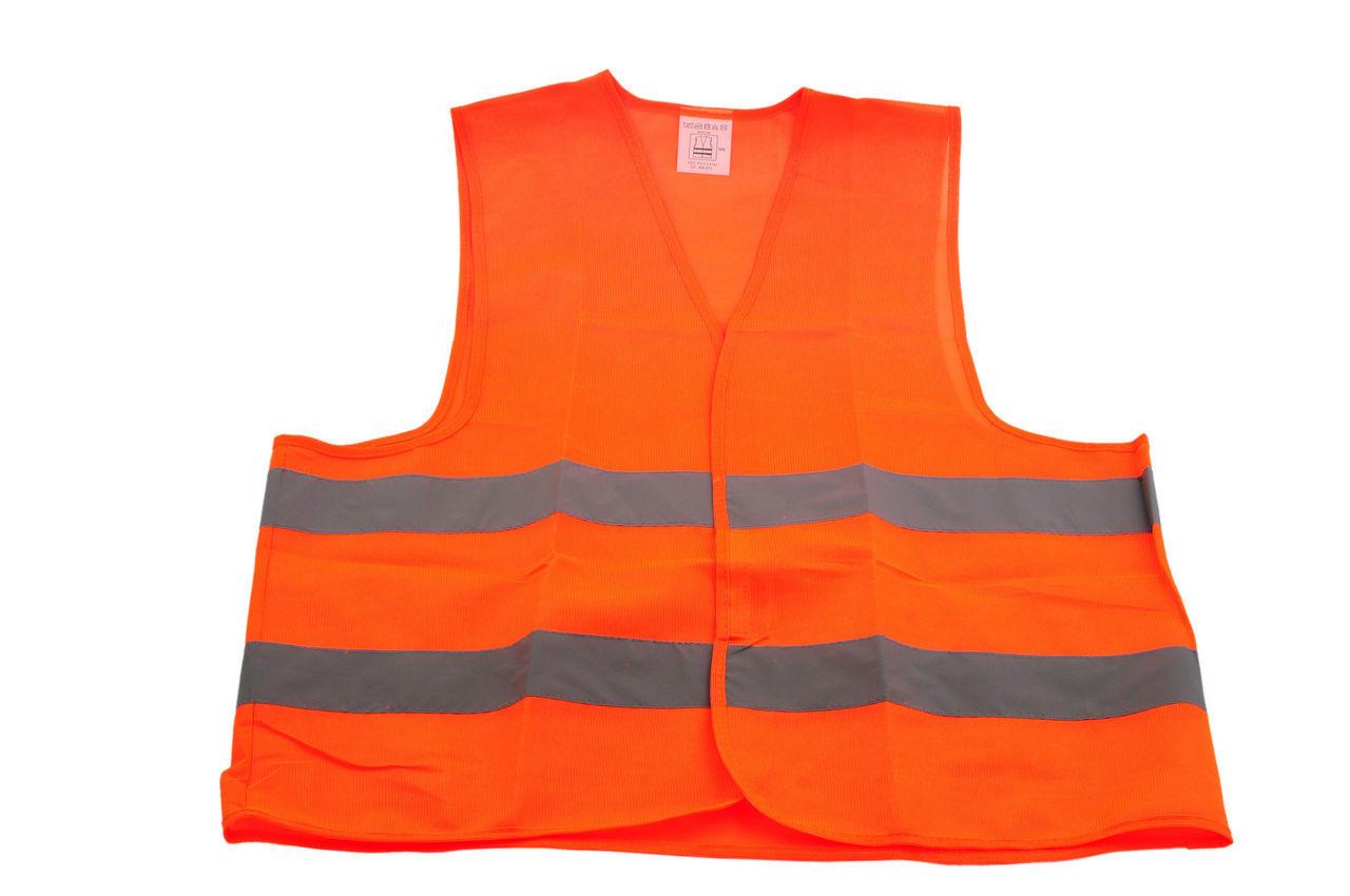 Жилет светоотражающий (оранжевый) Vita 1