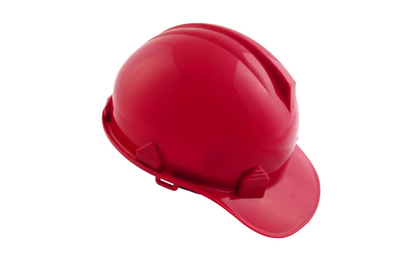 Каска строительная Intertool - красная 1