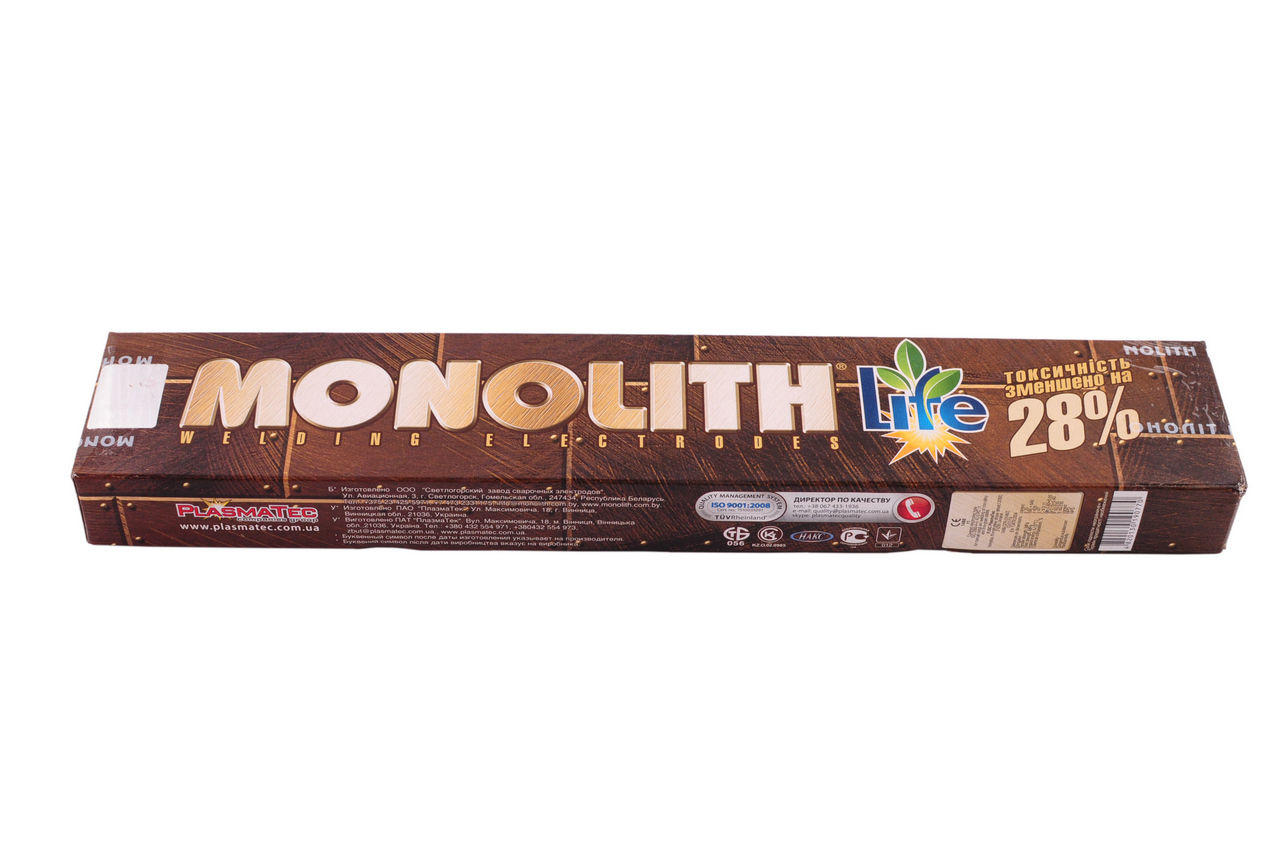 Электроды PlasmaTec - Monolith 3 мм х 0,5 кг, (РЦ) 1