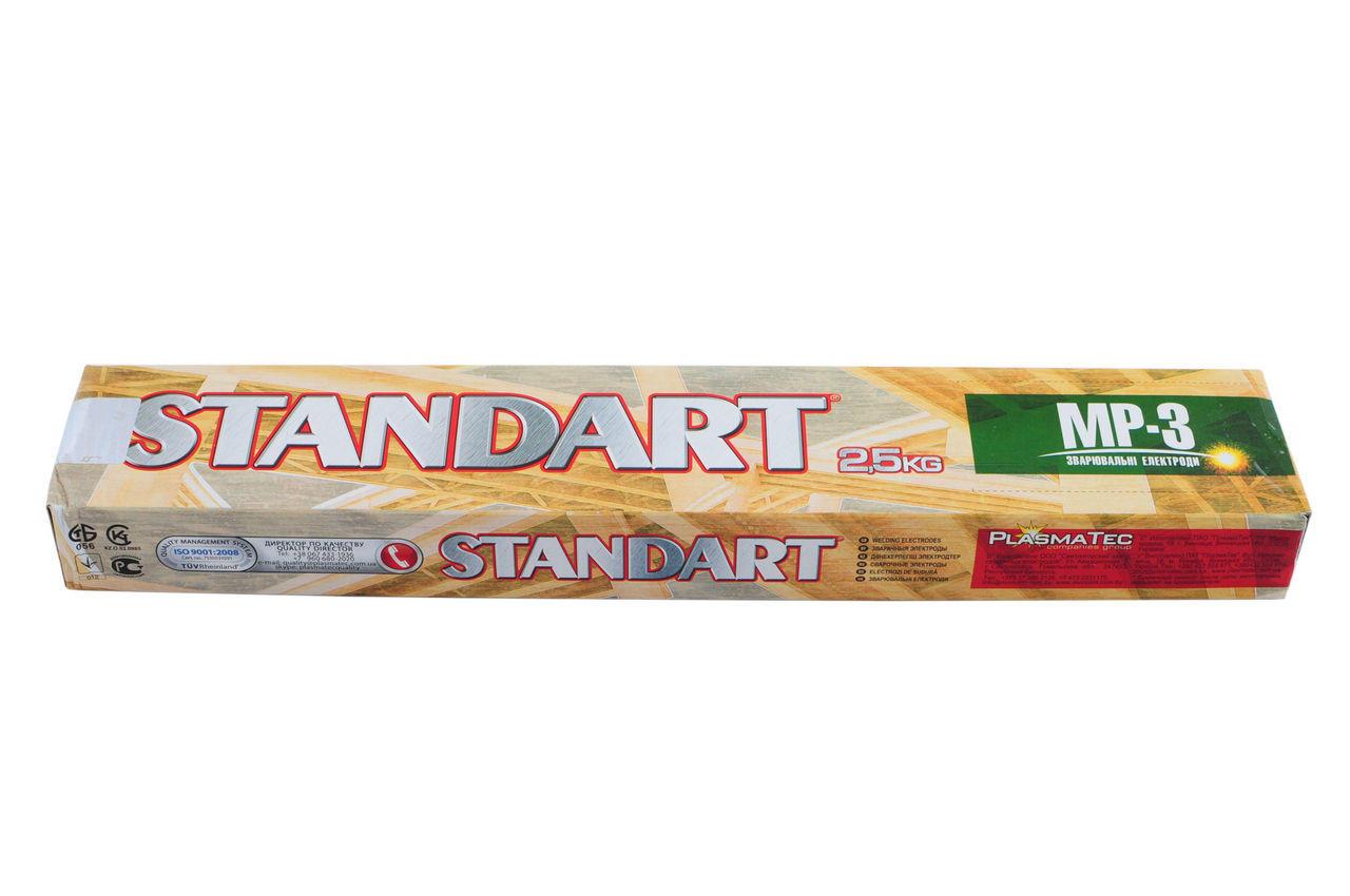 Электроды PlasmaTec - Стандарт 3 мм х 2,5 кг, (МР-3) 1