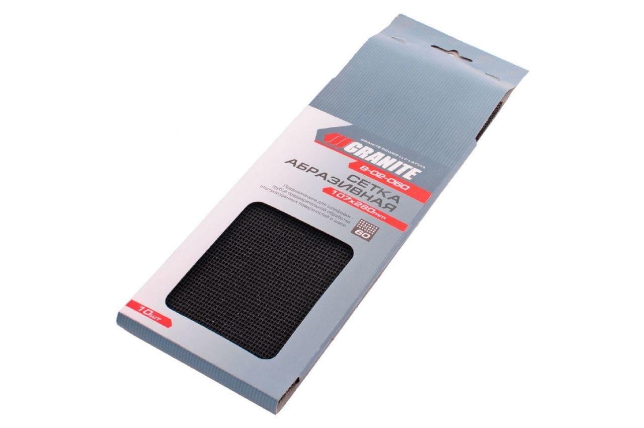 Сетка абразивная Granite - 107 х 280 мм Р60 (в комплекте 10 шт.) 3