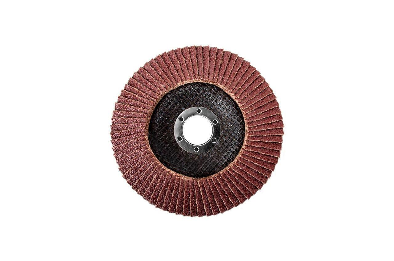 Круг лепестковый торцевой Intertool - 125 мм Р40 4