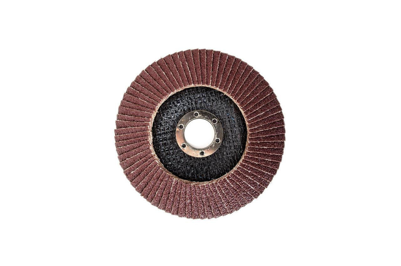 Круг лепестковый торцевой Intertool - 125 мм Р60 4