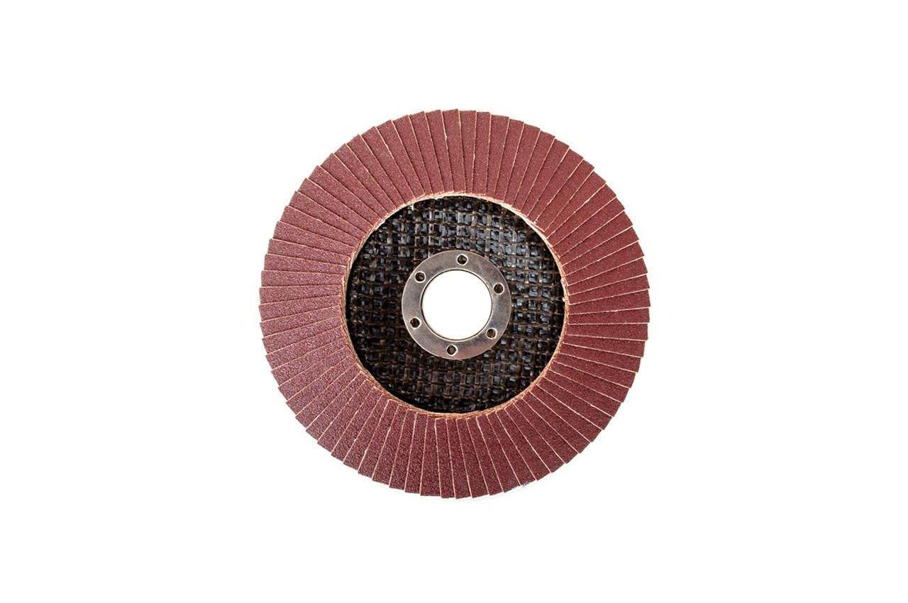 Круг лепестковый торцевой Intertool - 125 мм Р120 4