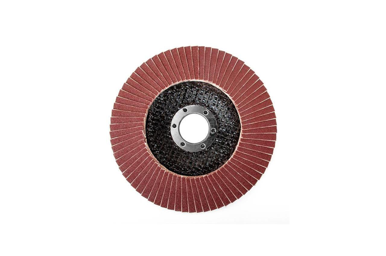 Круг лепестковый торцевой Intertool - 125 мм Р150 4