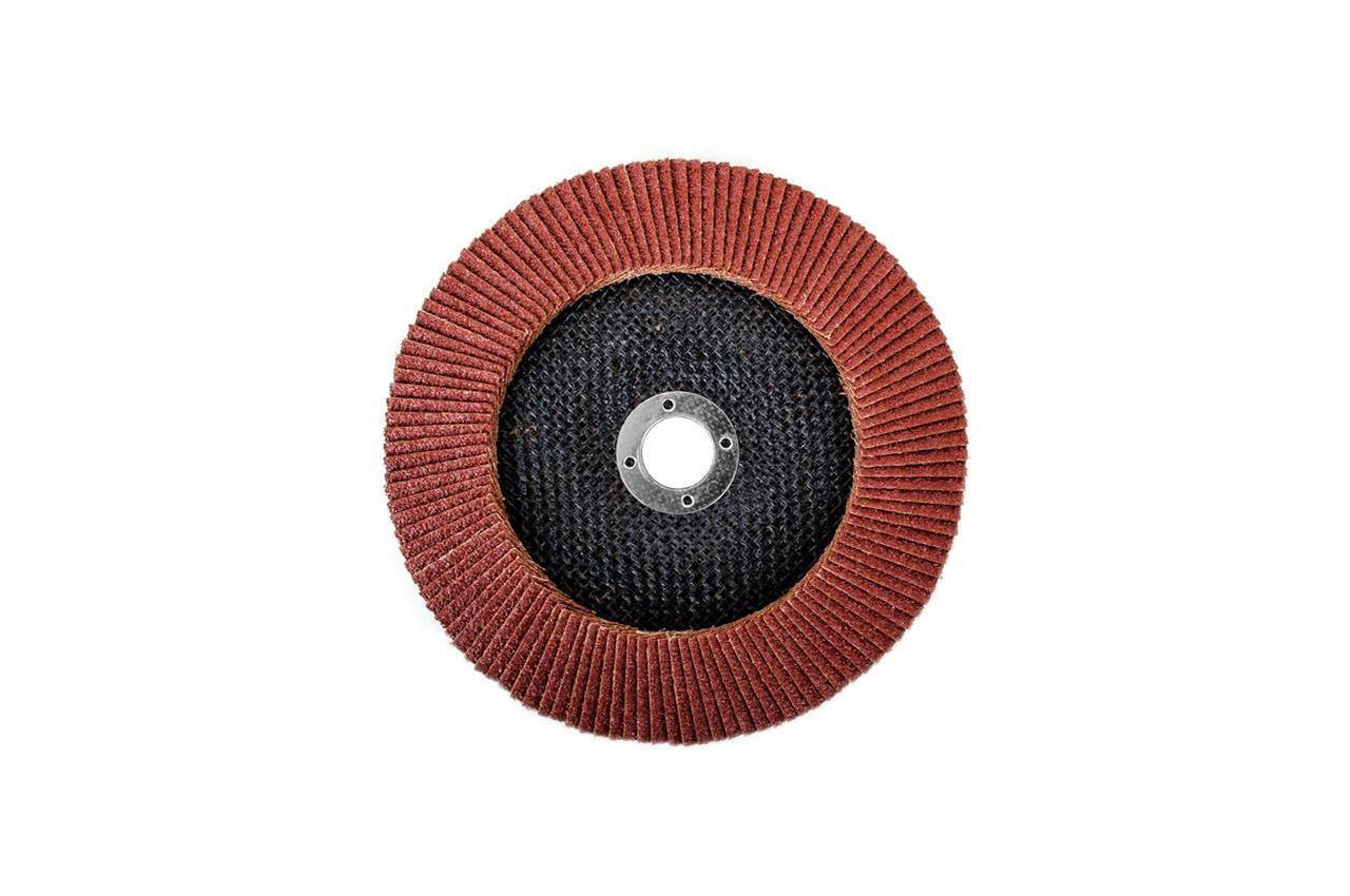 Круг лепестковый торцевой Intertool - 180 мм Р40 4