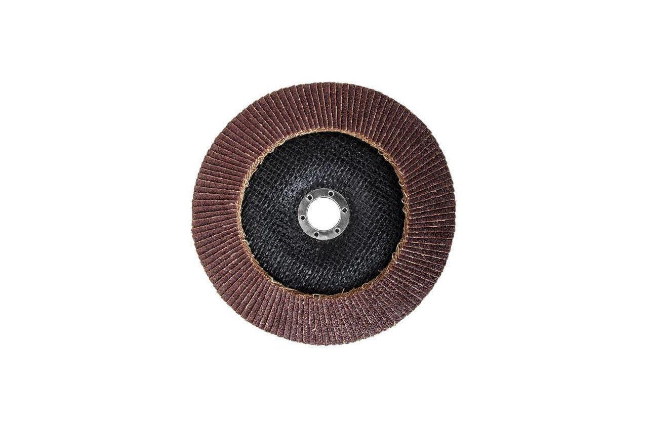 Круг лепестковый торцевой Intertool - 180 мм Р60 4