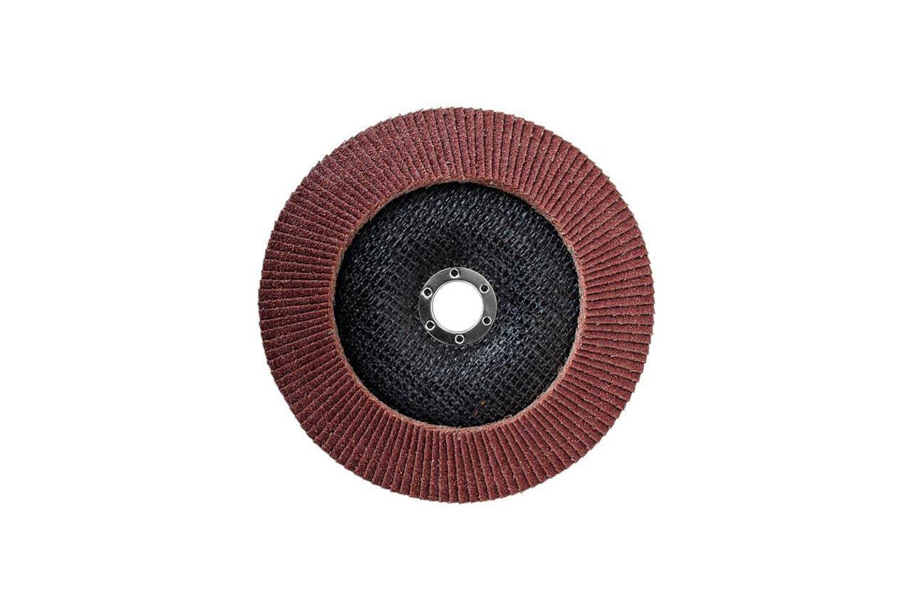 Круг лепестковый торцевой Intertool - 180 мм Р80 4