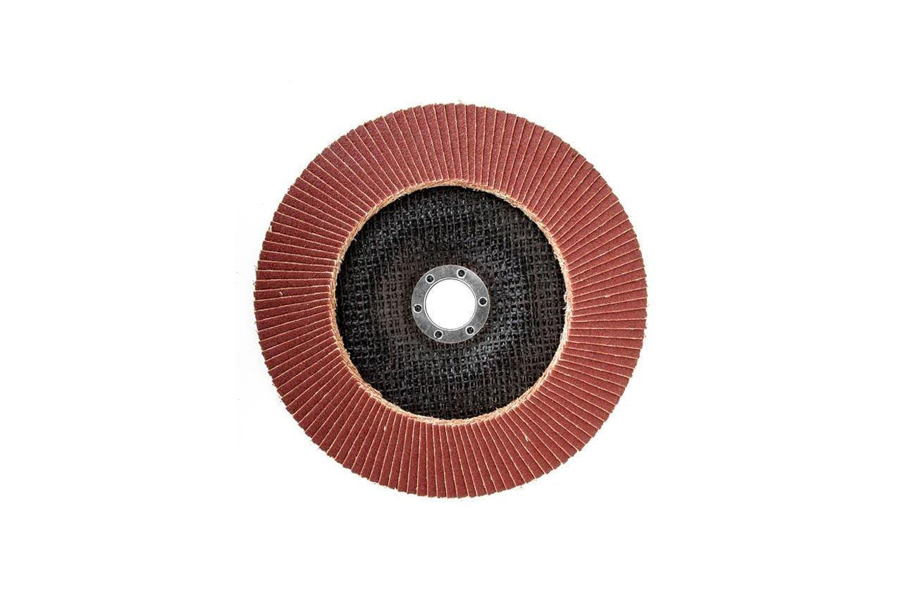 Круг лепестковый торцевой Intertool - 180 мм Р100 4