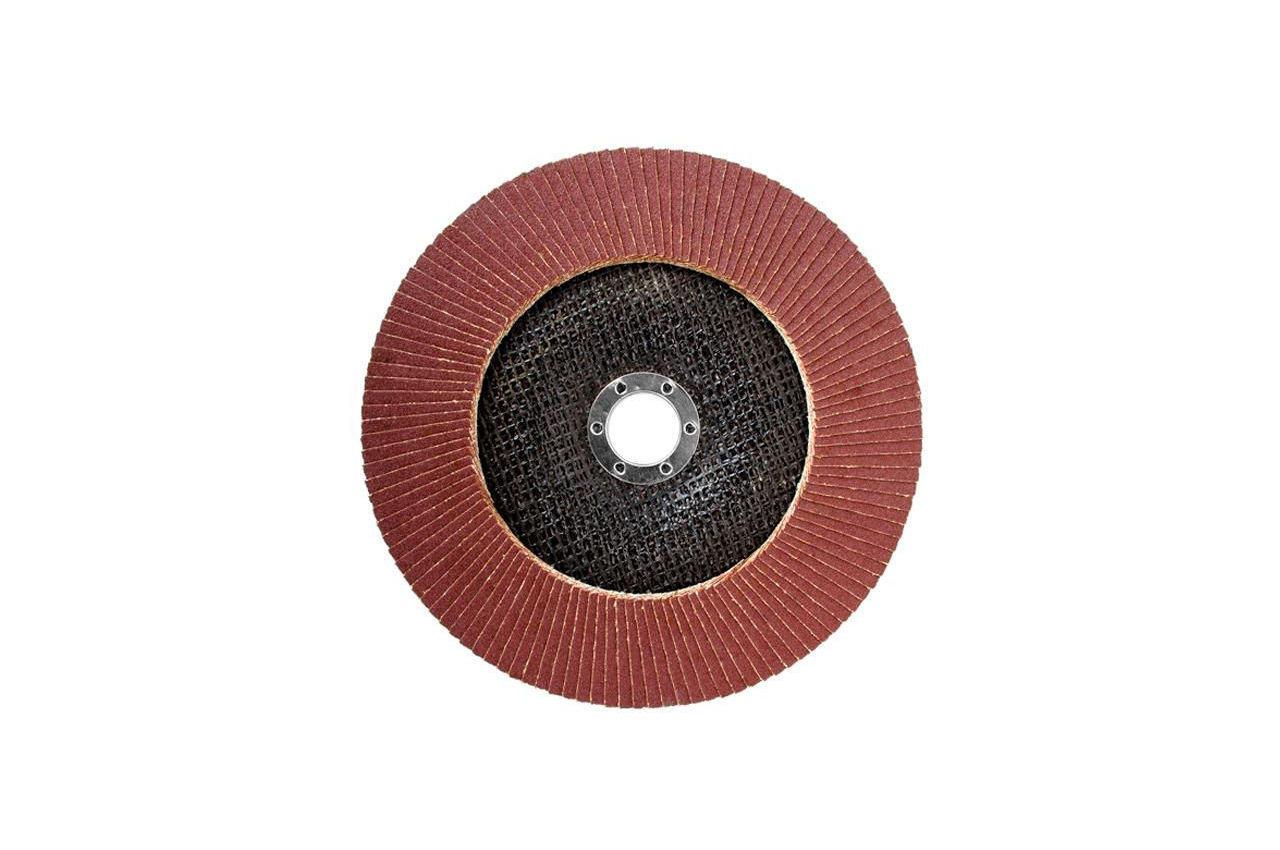 Круг лепестковый торцевой Intertool - 180 мм Р150 4